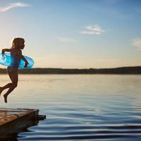 Avondzwemmen - Foto: Clive Tompsett