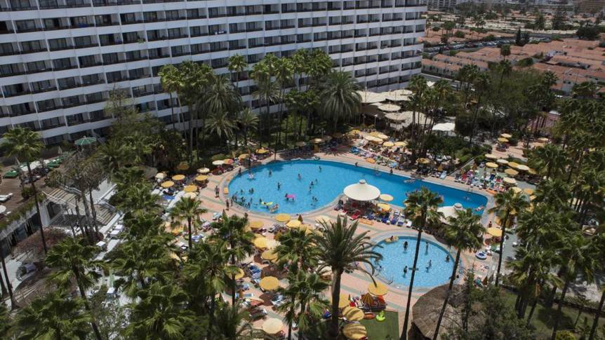 Zwembad Hotel Eugenia Victoria