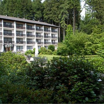 Aanzicht Hotel Wyndham Garden Gummersbach
