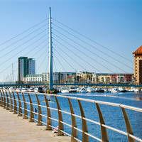 Swansea - Millennium Foot Bridge