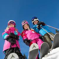 Kinderen op ski's