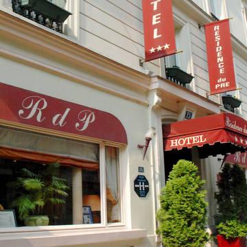 Entree Hotel Résidence du Pré