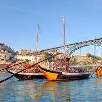 6-daagse treinrondreis Porto en Lissabon kort