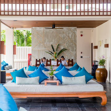 Dewa Phuket - Receptie en lobby Dewa Phuket (Beach Resort, Villas & Suites)