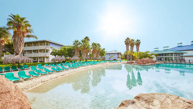 Overzicht Hotel Caribe Resort (PortAventura)