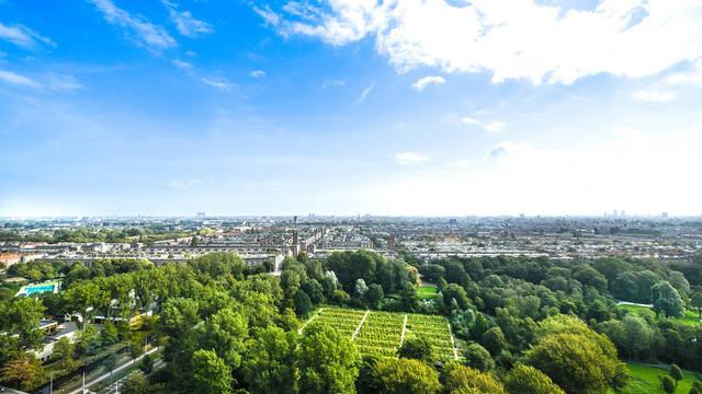Uitzicht Leonardo Hotel Amsterdam Rembrandtpark