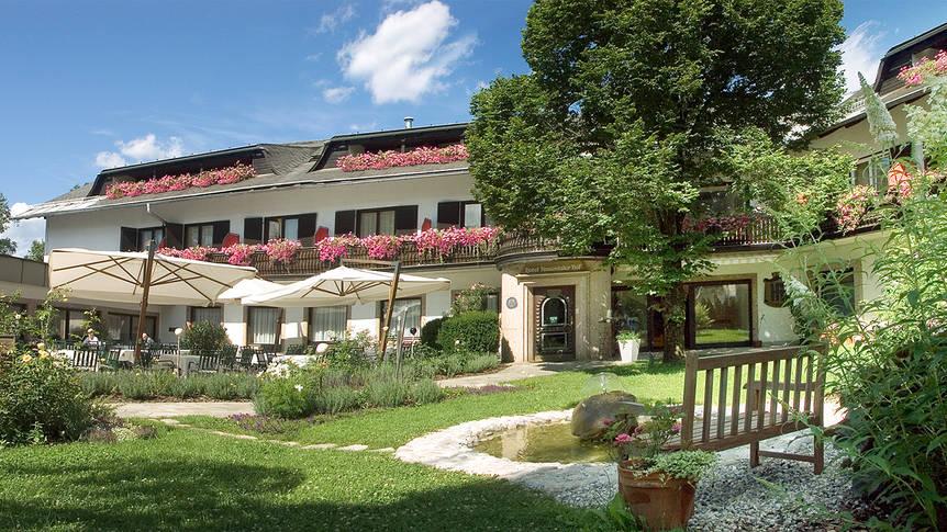 Buitenaanzicht Landhotel Rosentalerhof
