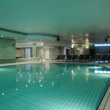 Overdekt zwembad Hotel Vayamundo Oostende