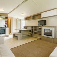 Voorbeeld woonkamer 3-kamerstacaravan