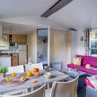 Voorbeeld 3-kamerstacaravan Cottage