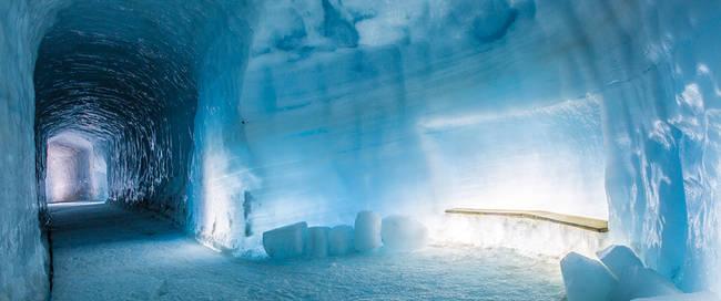 Gletsjertunnel Langjokull