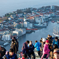 Uitzichtpunt Floien Fotograaf: Øyvind Heen