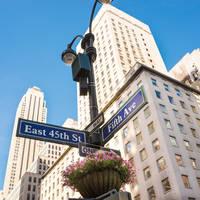 Fifth Avenue wegwijzer