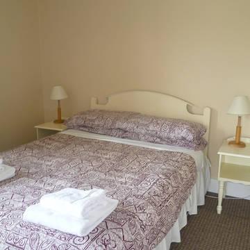 Voorbeeld slaapkamer Clifden Glen Vakantiewoningen