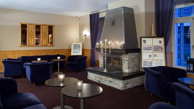 Openhaard en Lounge Thermal hotel