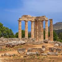 Nemea - Tempel van Zeus