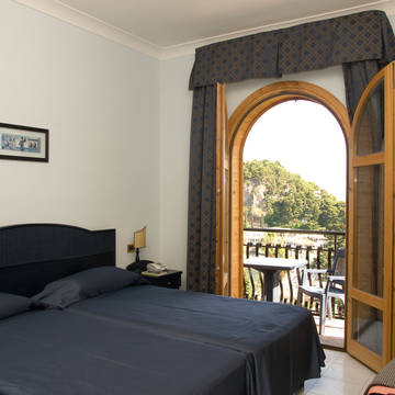 Voorbeeldkamer Hotel Ipanema