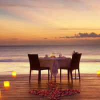 Diner op het strand