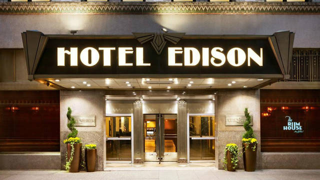 Entree Hotel Edison Times Square