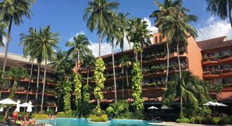 Swimming Pool Patong Merlin Hotel