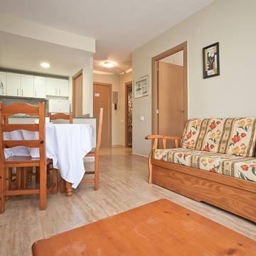 Voorbeeld kamer Appartementen Royal