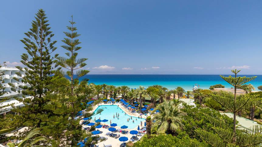 Zwembad Blue Horizon Hotel