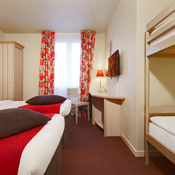 Familiekamer Hotel Campanile Val de France