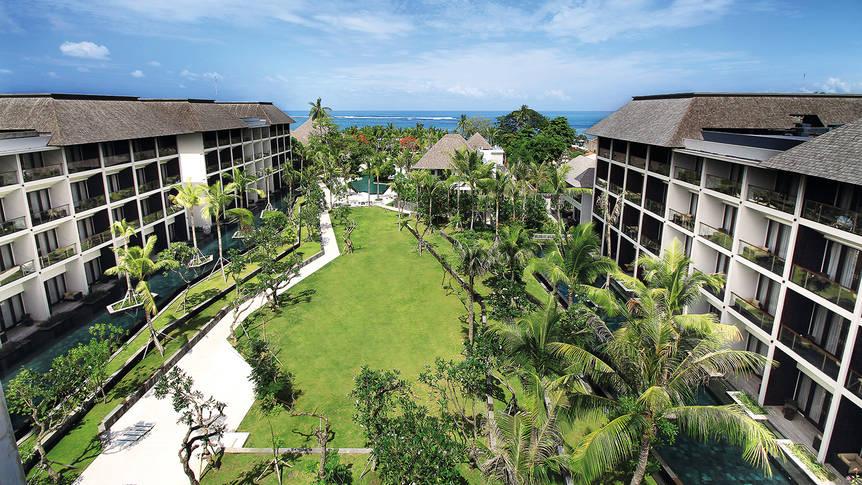 Overview Anvaya Beach Resort