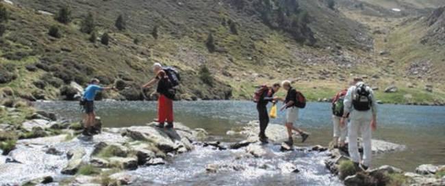 wandelaars in Andorra