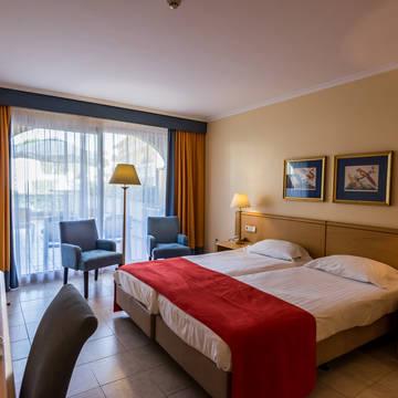 Voorbeeldkamer Van der Valk Hotel Barcarola
