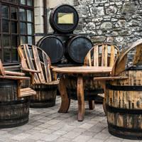 Speyside - meubels gemaakt van Whisky vaten