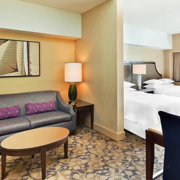 2-persoonskamer Hotel Sheraton Lincoln Harbor