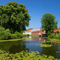 Funen, dorpje Nyborg