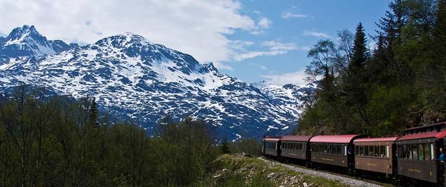 The White pass + Yukon route railroad