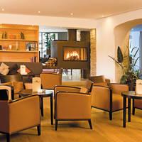 Lounge met open haard