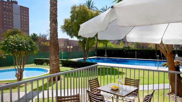 Zwembad Hotel Medium Valencia