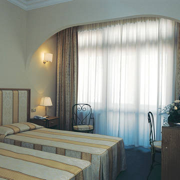 Voorbeeld 2-persoonskamer Park Hotel Villaferrata
