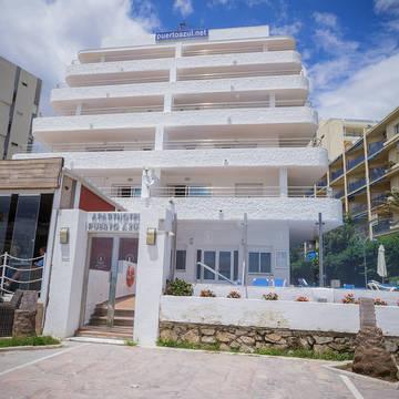 Boulevard zijde Appartementen Puerto Azul