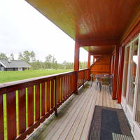 Balkon / terras voorbeeld 3-kamerappartement