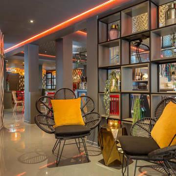 Lounge 3- of 4-daags arrangement 'Ontdek Amsterdam' - Leonardo Boutique Museumhotel Amsterdam City Center