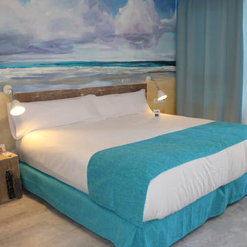 Slaapkamer Hotel Casual Malaga del Mar