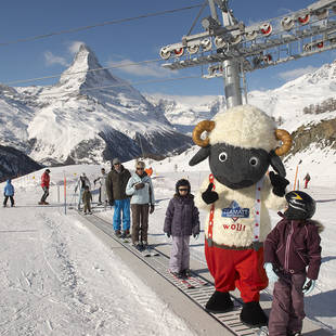 Wintersport in Zermatt