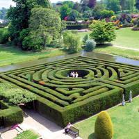 Tuin bij Hever Castle