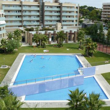 Hotel met zwembad Appartementen Aqquaria