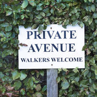 Walkers welcome!