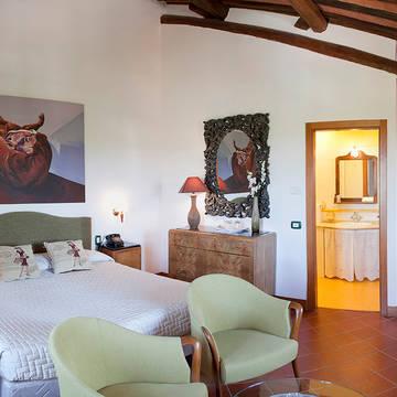 Voorbeeld kamer Appartementen Borgo Tre Rose