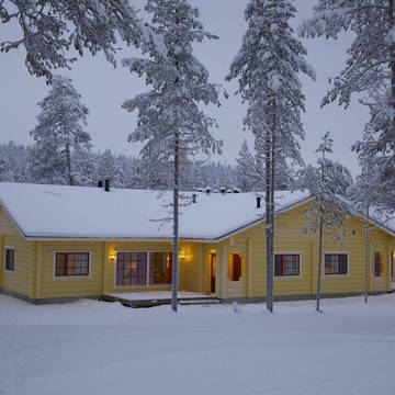 Exterieur Pan Village Oulanka Bungalows