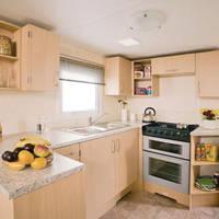 Voorbeeld keuken 4-kamerstacaravan