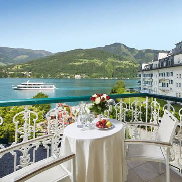 Uitzicht Grand Hotel