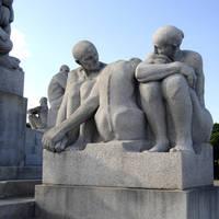 Oslo - Vigelands beeldenpark